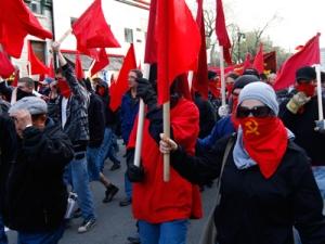 ANTIFA red