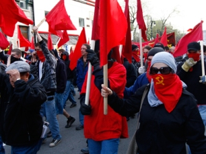 ANTIFA red